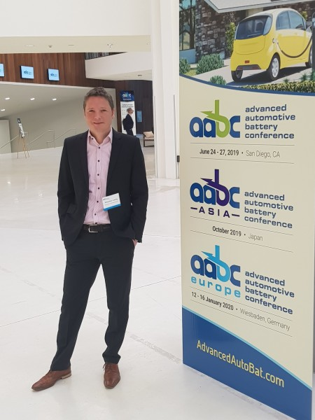 Sebastian Lüttig Attended This Year S Aabc Conference Europe Advanced Automotive Battery In Strasbourg